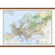Europa. Harta economica 1400x1000 mm
