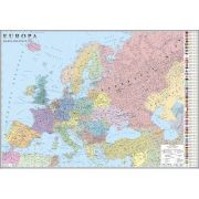Europa. Harta politica 1000x700mm, fara sipci