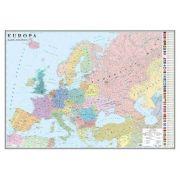 Europa. Harta politica. Harta de contur, 600x470 mm, fara sipci