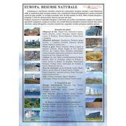 Plansa Europa. Resursele naturale