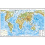 Harta celor mai importante resurse ale lumii 3500x2400 mm