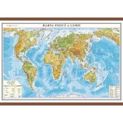Harta fizica a lumii 1000x700 mm