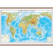 Harta fizica a lumii 1400x1000 mm