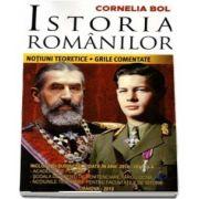 Istoria romanilor. Notiuni teoretice si grile comentate. Cu subiecte date in anii 2010 - 2019
