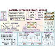 Matrice. Sisteme de ecuatii liniare. Sfera inscrisa in corpurile de rotatie. Plansa