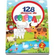 128 desene de colorat, volumul II