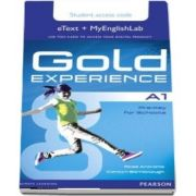 Gold Experience A1 eText & MyEnglishLab Student Access Card