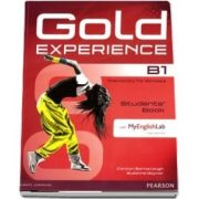 Gold Experience B1 Students Book with DVD-ROM/MyLab Pack