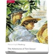 Level 1: The Adventures of Tom Sawyer Book & CD Pack