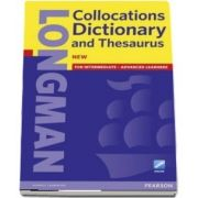 Longman Collocations Dictionary and Thesaurus Cased with online