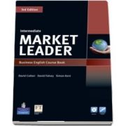 Market Leader 3rd Edition Intermediate Coursebook with DVD ROM and MyLab Access Code Pack