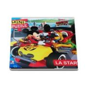 Mickey si pilotii. La start - Cu 4 planse de puzzle