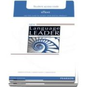 New Language Leader Intermediate Teachers Etext Access Card