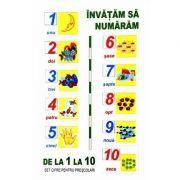 Numerele. Set 10 planse, format A5
