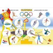 Plansa Olimpiada. Probe sportive