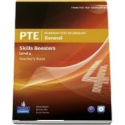 Pearson Test of English General Skills Booster 4 Teachers Book and CD Pack