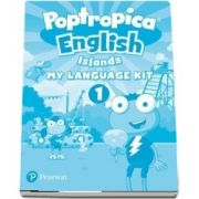 Poptropica English Islands Level 1 My Language Kit (Reading, Writing & Grammar Book)