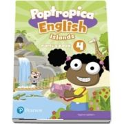 Poptropica English Islands Level 4 Pupils Book and Online World Access Code Online Game Access Card pack