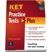 Practice Tests Plus KET Students Book and Audio CD Pack