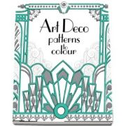 Art Deco patterns to colour