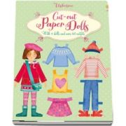 Cut-out paper dolls