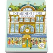 Department store sticker book