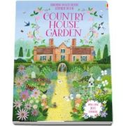 Dolls house sticker book: Country house garden