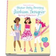 Fashion designer spring collection