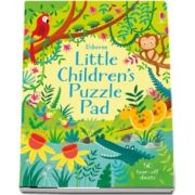 Little childrens puzzle pad