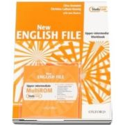 New English File Upper-Intermediate: Workbook with MultiROM Pack : Six-level general English course for adults