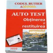 Obtinerea si restituirea permisului de conducere 13 din 15 - Auto Test 2020