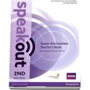 Speakout Upper Intermediate 2nd Edition Teachers Guide with Resource & Assessment Disc Pack