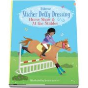 Sticker Dolly Dressing Horse Show and At the Stables