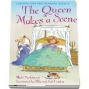 The Queen makes a scene