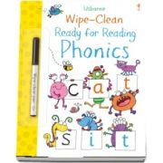 Wipe-clean ready for reading phonics