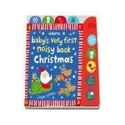 Babys very first noisy book: Christmas