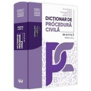 Dictionar de procedura civila. Editia a 3-a