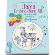 Embroidery kit: Llama