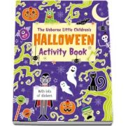Little childrens Halloween activity book