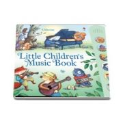 Little childrens music book with musical sounds