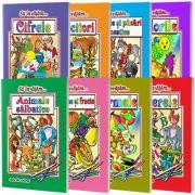 Colectia sa invatam... 8 carti de colorat, format A4