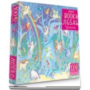 Unicorns sticker book and jigsaw