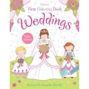 Weddings colouring book