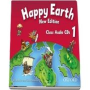 Happy Earth 1 New Edition. Class Audio CDs