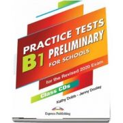 Dooley Jenny, B1 Preliminary For Schools Practice Tests. Class CDs, set of 5