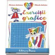 Caiet de exercitii grafice 5-6 ani