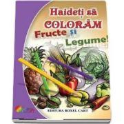 Fructe si legume. Haideti sa coloram