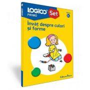 Invat despre culori si forme - Seria Logico Primo