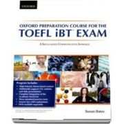 Oxford Preparation Course for the TOEFL iBT Exam. Students Book Pack with Audio CDs and website access code. A communicative approach to learning for successful performance in the TOEFL iBT Exam
