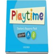 Playtime Starter A and B. Teachers Resource Pack. Stories, DVD and play - start to learn real-life English the Playtime way!